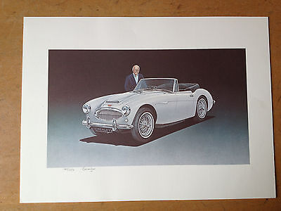"""AUSTIN HEALEY BJ8 """"DONALD HEALEY COLLECTION"""" LIMITED EDITION LITHIGRAPH"""