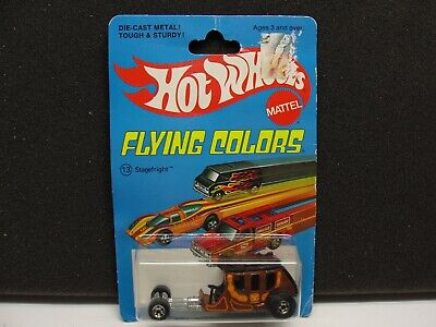 Hot Wheels Flying Colors Stagefright Blackwall BP has some wear