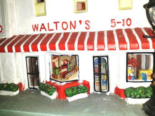 HOLIDAY TIME CHRISTMAS VILLAGE WALTON