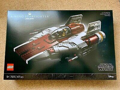 UCS Star Wars A-Wing Starfighter LEGO 75275, BNISB BRAND NEW SEALED