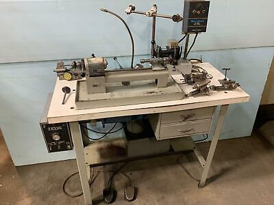 Loaded Levin Precision Instrument Lathe 4 X 9-12 39k Of Tooling Milling D