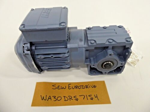 SEW Eurodrive WA30DRS71S4 Electric Motor and Gear Drive
