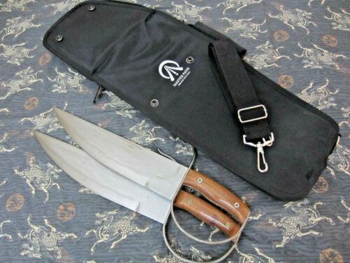 EC Heavy Duty Wing Chun Buick Yip BJD Butterfly Training Swords & Carrying Bag