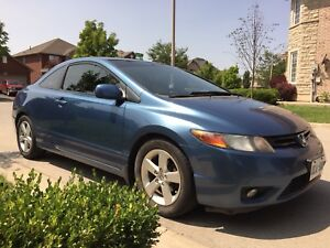 2008 Honda Civic DX coupe 5 speed manual sunroof