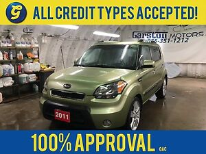 2011 Kia Soul 4U*SUNROOF*KEYLESS ENTRY*POWER WINDOWS/LOCKS/MIRRO