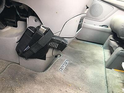 Vehicle Holster w/mag pouch & Mount Car Truck Ambidextrous Handgun Conceal