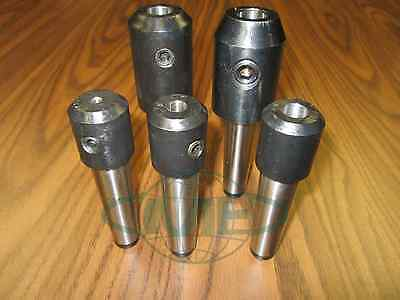 Mt3 Morse Taper 3 End Mill Tool Holders 5 Pcs- Select Sizes Draw Bar Styles