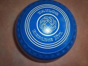 Thomas Taylor REDLINE XTL Lawn Bowls 1H WB14 Colour Blue Dimple Grip