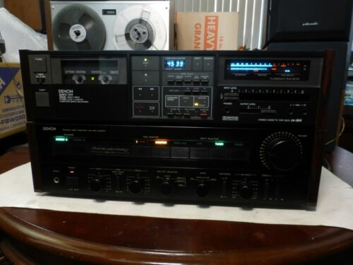 Denon DR-M4 Three Head Stereo Cassette Deck w EXTRAS