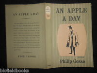 Original Vintage Lynton Lamb Dustjacket (only) For An Apple A Day - Philip Gosse - apple - ebay.co.uk