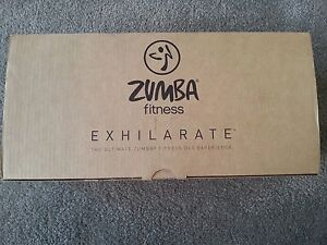 Zumba Fitness Exhilarate 7 DVD Set - Brand New Essendon Moonee Valley Preview