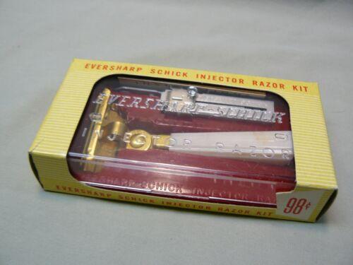 Vintage Eversharp Schick Injector Razor Kit