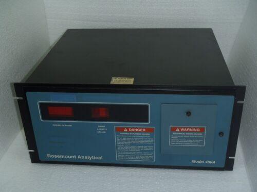 Rosemount 400a Hydrocarbon Analyzer 115v 50/60hz