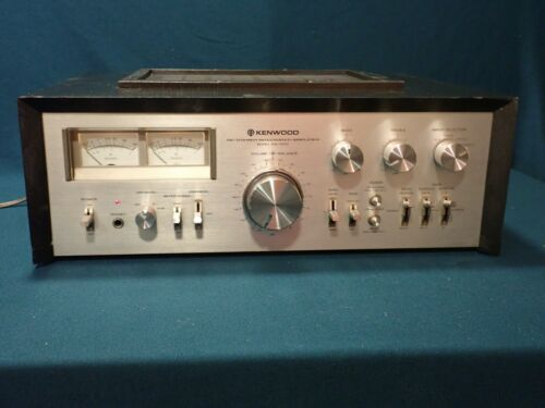 Kenwood KA-9100 DC Stereo Integrated Amplifier, Restored, Works well