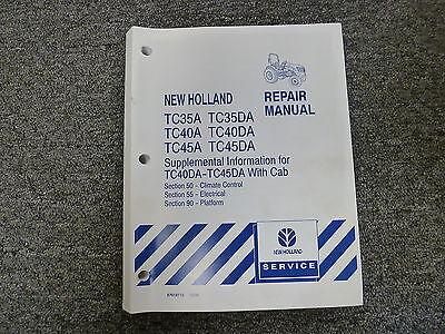 new holland tc35da tc45da tc45d tc40a tractor service repair manual rh ebay com New Holland TC45A Craigslist New Holland TC45 Tractor