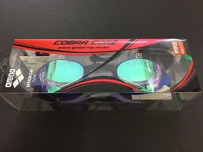 bbb7ce767638 Arena Swimming Goggle Anti-fog Swim Glass Cushion Cobra Core AGL-240M EMBB F