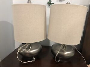 Brand new table lamps