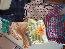 Size 0 boys clothing bundle, 6 items (Thomas/milky/bonds) Tranmere Campbelltown Area Preview