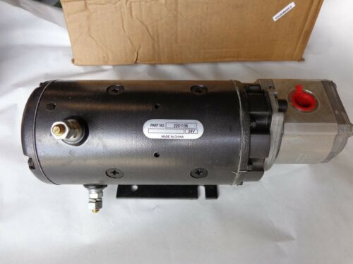OEM Caterpillar 205-5266 Pump GP Electric, 24 Volt, Caterpillar 2055266 Pump GP