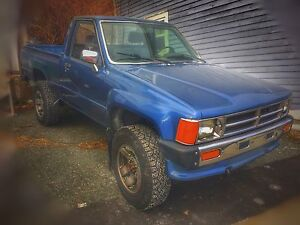 Classic 1988 Toyota pickup 4x4