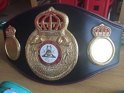 Exact WBA World Champion Boxing Belt Replica -BEST WBU REPLICA- IBF,WBU,WBO,IBO