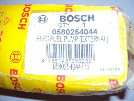 BOSCH EFI 044 FUEL PUMP VL TURBO AND ROTARY NEAR NEW