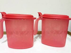 New 2x Tupperware salt n spice set 500ml RED South Yarra Stonnington Area Preview