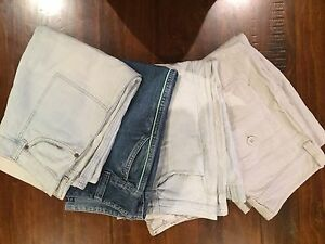 4 Pairs Ladies Size 10 Baggy 3/4 Jeans Caboolture Caboolture Area Preview