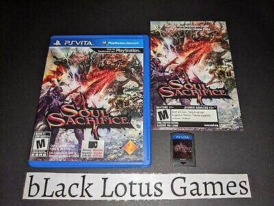 Soul Sacrifice Vita PSV PlayStation