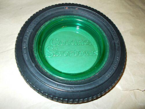 BF Goodrich Sivertown Ashtray/Trinket Dish/Rubber Tire, Depression/Vaseline
