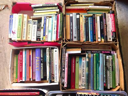 BULK LOT of 160+ BOOKS! Cooking, Fiction, History, bios & more!