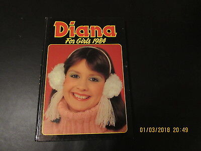 DIANA    FOR  GIRLS   ANNUAL  1984  VERY   GOOD  FOR  AGE