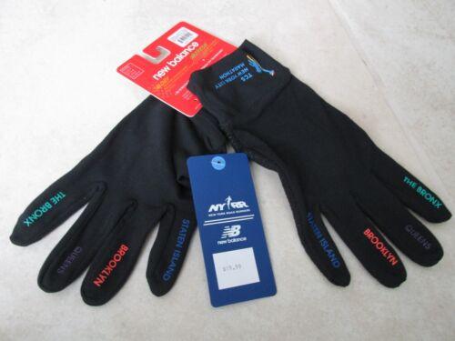 NEW TCS New York City Marathon NEW BALANCE Unisex Gloves sz XL BLACK