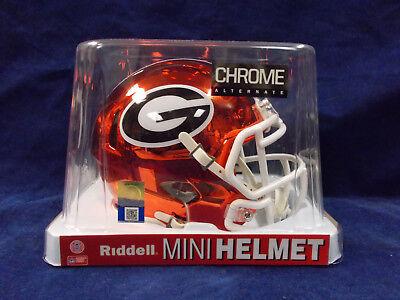 Georgia Bulldogs CHROME Officially Licensed NCAA Speed Mini (Bulldogs Ncaa Mini)