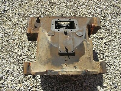 Unstyled Allis Chalmers Wc Tractor Ac Transmission Bell Housing No Starter Hole