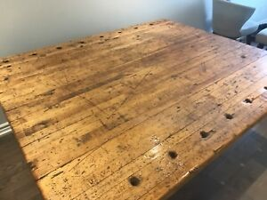 FREE 19TH CENTURY ANTIQUE DINING TABLE