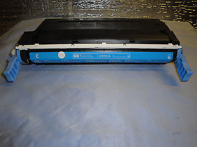 Used HP OEM Genuine Cyan C9721A Toner for 4600 and 4650 series 65 ()