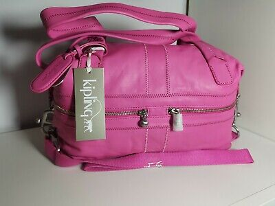 Lovely Sweet Pink Leather Maggie Kipling Bag Brand New With Dust Bag