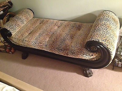 Love Seat with Lynx Custom Fabric by Maitland -