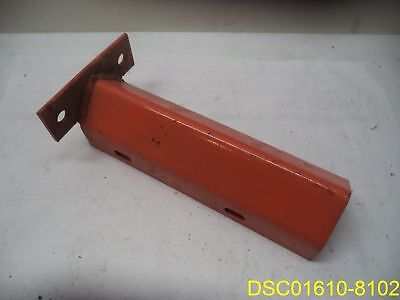 Orange Metal Steel Pallet Rack Protector Bolt Down 12 14 Tall 3 Inside Width