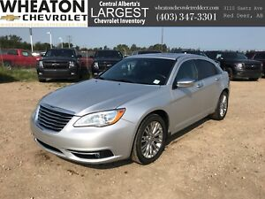 2012 Chrysler 200 Limited - Heated Seats, Leather, Sunroof