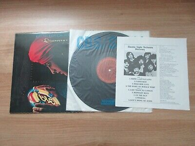 ELO DISCOVERY 1980 Korea Orig Vinyl LP INSERT Electric Light Orchestra