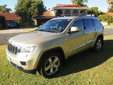 2011 Jeep Grand Cherokee Limited Gold Diesel Auto