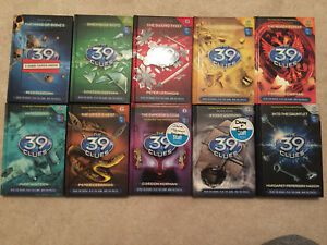 The 39 Clues complete series- Books 1-10