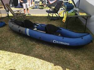 INFLATABLE CANOE / KAYAK Campbellfield Hume Area Preview