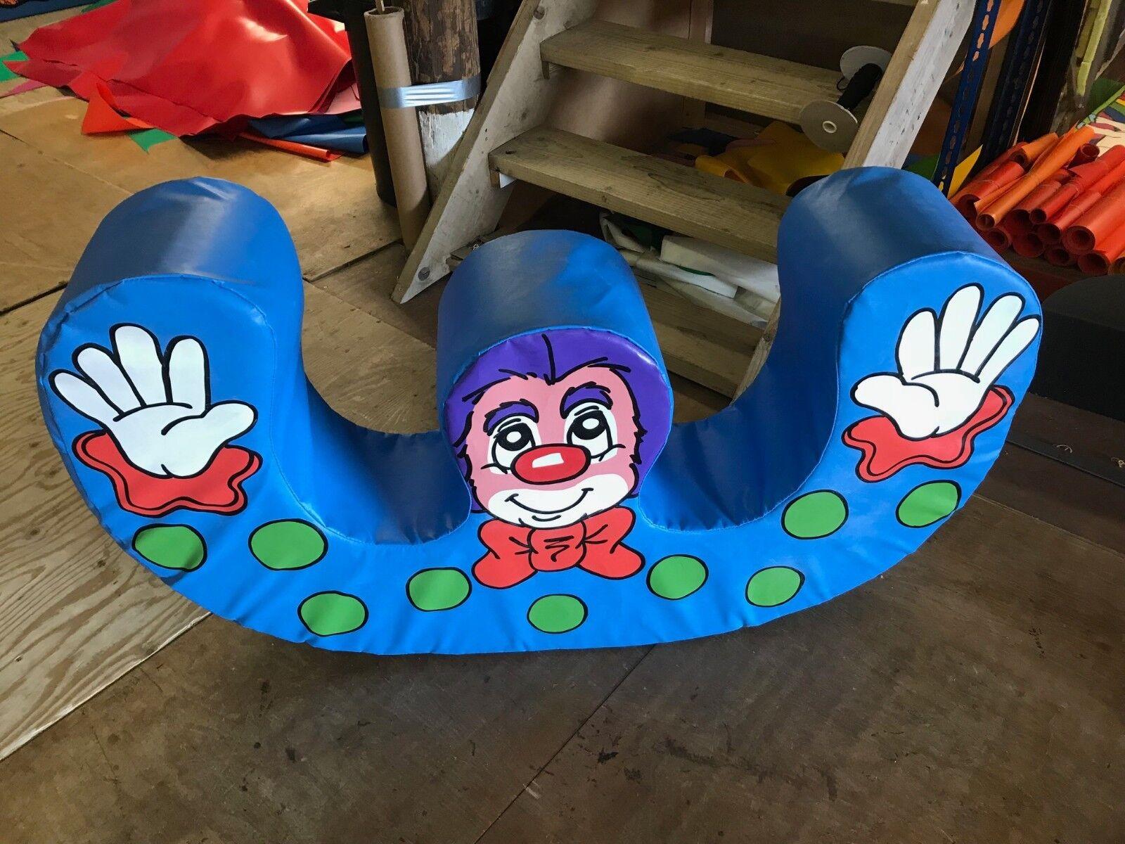 Double Rocker CLOWN Circus Theme Hand Painted quality V33 foam
