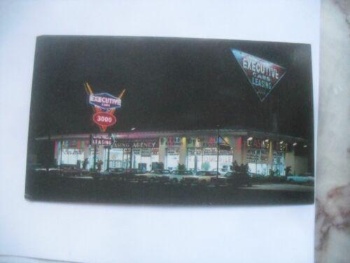 Car dealership Executive Cars Business Card auto dealer Camden New Jersey 1960