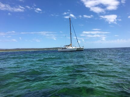 Selling Crowther catamaran yacht