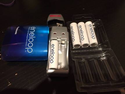 new usb charger with 4XAA eneloop rechargeable battries