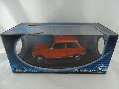 1:18 Solido 8185 1972 Renault 5 TL Arancione